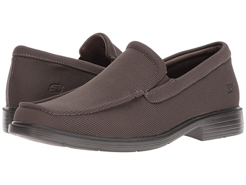 Incaltaminte Barbati SKECHERS Relaxed Fitreg Caswell Taupe