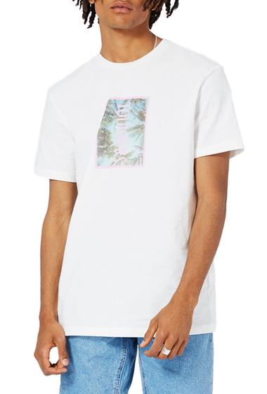 Imbracaminte Barbati TOPMAN Toujours Graphic T-Shirt WHITE MULTI