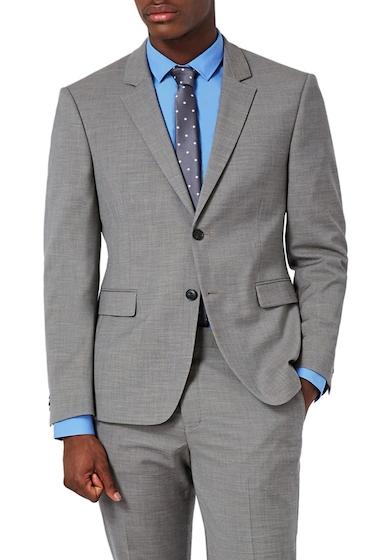 Imbracaminte Barbati TOPMAN Muscle Fit Suit Jacket GREY