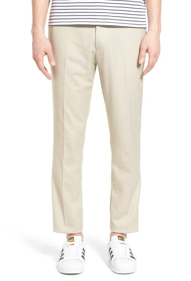 Imbracaminte Barbati TOPMAN Skinny Fit Suit Pants STONE
