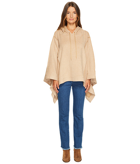 Imbracaminte Femei See by Chloe Double Face Jersey Poncho Camel