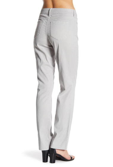 Imbracaminte Femei NYDJ Marilyn Straight Leg Slim Fit Jeans SNOWCAP