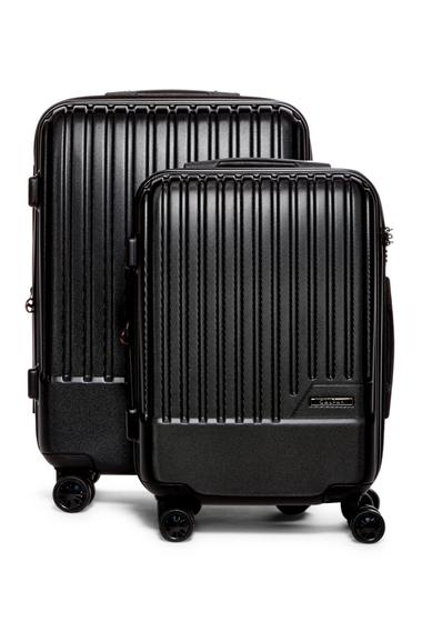 Genti Femei CALPAK LUGGAGE Davis 2-Piece Spinner Luggage Set BLACK