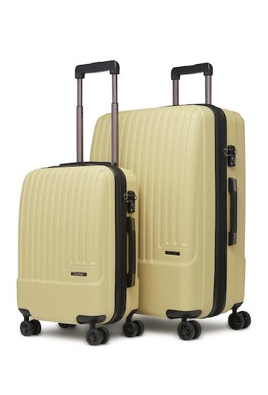 Genti Femei CALPAK LUGGAGE Davis 2-Piece Spinner Luggage Set KHAKI