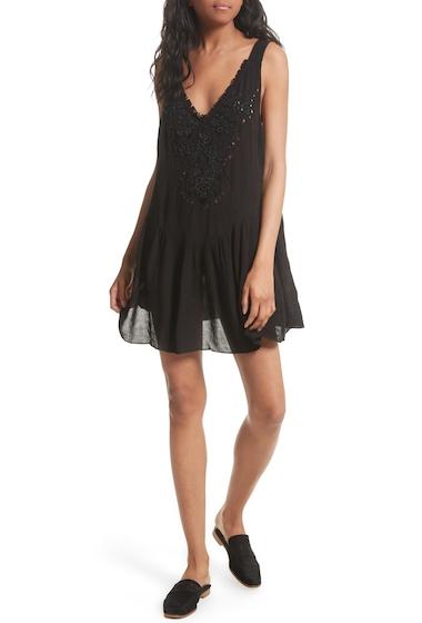Imbracaminte Femei Free People Delphine Embellished Slipdress BLACK