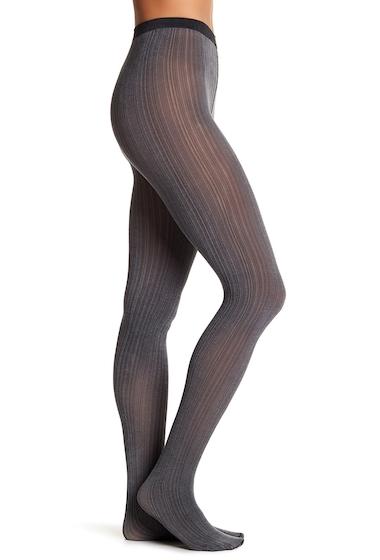 Accesorii Femei WOLFORD Sophia Stripe Opaque Tights BLACK-ASH