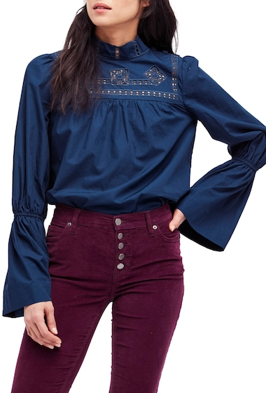 Imbracaminte Femei Free People Another Eternity Blouse TURQUOISE