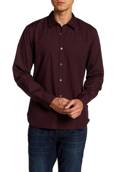 Imbracaminte Barbati John Varvatos Star USA Mayfield Slim Fit Shirt GARNET