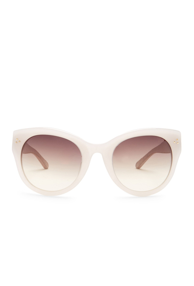 Ochelari Femei Linda Farrow Womens Modified Cat Eye Sunglasses MILKY GREY