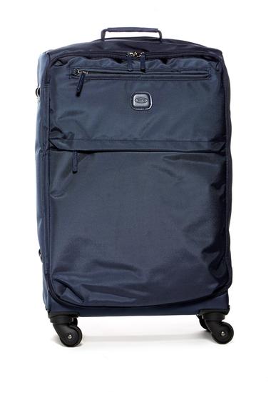 Genti Femei Brics Luggage 25 Nylon Spinner with Frame Suitcase NAVY