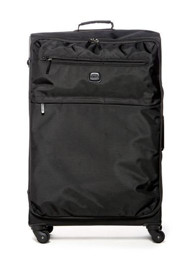 Genti Femei Brics Luggage 30 Nylon Spinner with Frame Suitcase BLACK