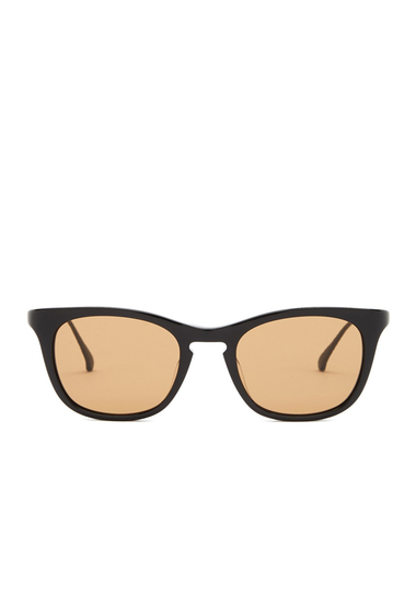 Ochelari Femei Bottega Veneta Womens Square Sunglasses SHINY BLACK