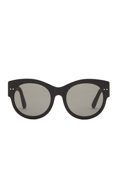 Ochelari Femei Bottega Veneta Womens Oversized Sunglasses SHINY BLACK