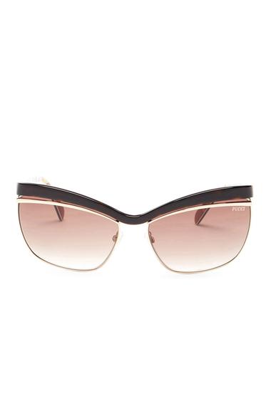 Ochelari Femei Emilio Pucci Womens Cat Eye Sunglasses HAVANA-OTHER - GRADIENT BROWN