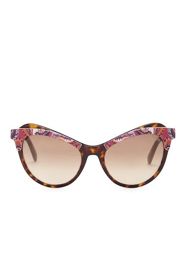 Ochelari Femei Emilio Pucci Womens Cat Eye Sunglasses DRK HVN-GRDNT BRN