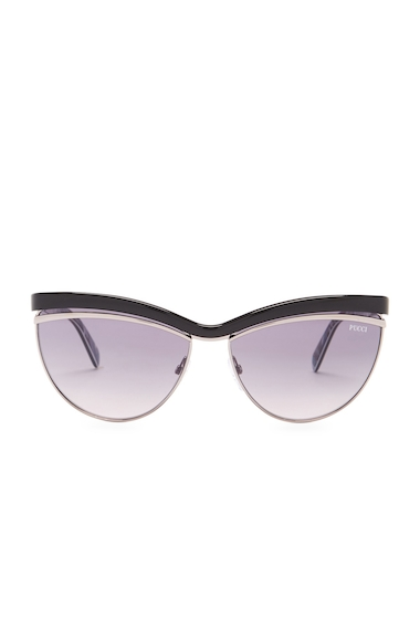 Ochelari Femei Emilio Pucci Womens Cat Eye Sunglasses BLACK-OTHER - GRADIENT SMOKE