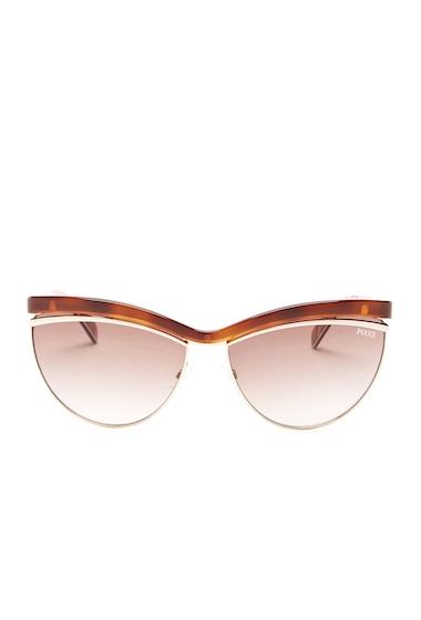Ochelari Femei Emilio Pucci Womens Cat Eye Sunglasses DARK HAVANA - GRADIENT BROWN