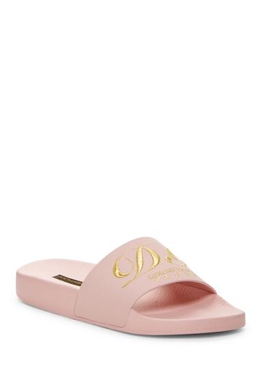 Incaltaminte Femei DOLCEGABBANA Shower Slide Sandal ROSACH-ROSA