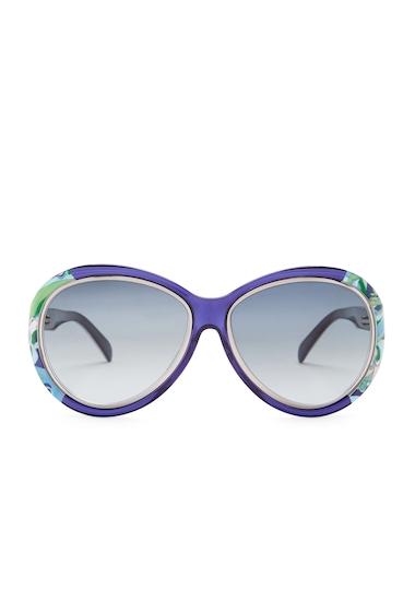 Ochelari Femei Emilio Pucci Womens Oversized Sunglasses SBLU-BLUG