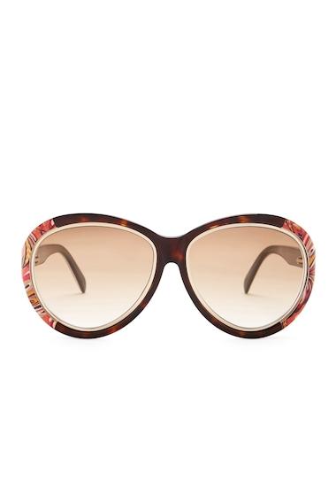 Ochelari Femei Emilio Pucci Womens Oversized Sunglasses HAVO-BRNG