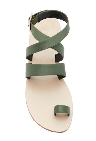 Incaltaminte Femei Tibi Hallie Satin Sandal OLIVE