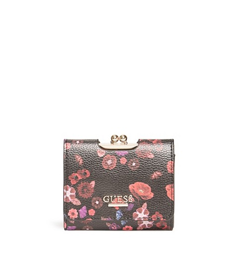 Accesorii Femei GUESS Selena Small Wallet floral