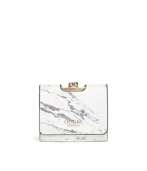 Accesorii Femei GUESS Selena Small Wallet marble
