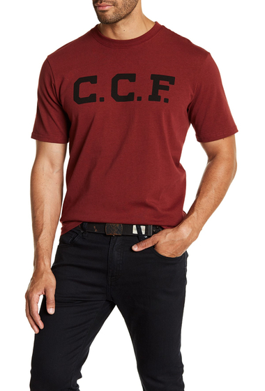 Imbracaminte Barbati Filson Outfitter Graphic Tee BURNTRED