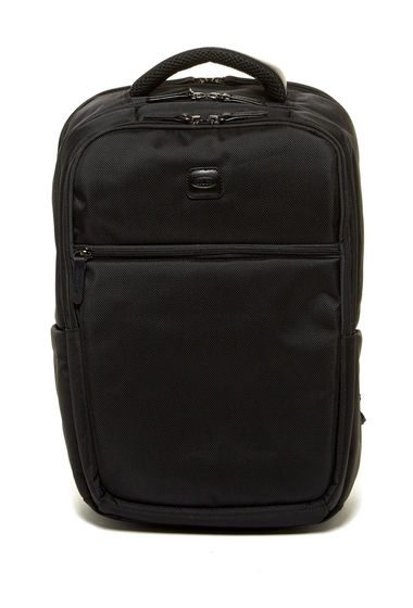 Genti Barbati Bric's Luggage Large Nylon Backpack BLACK WITH BLACK