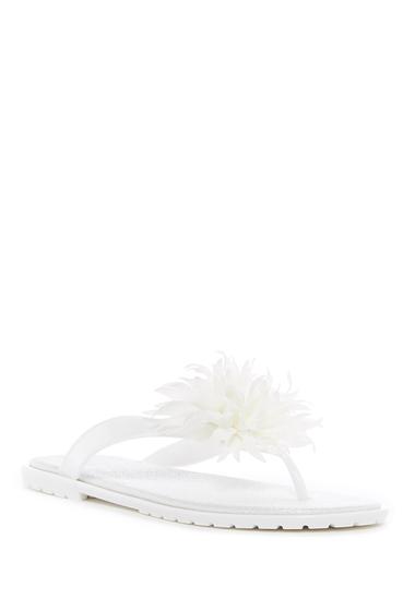 Incaltaminte Femei Dizzy Bouquet Floral Thong Sandal WHITE