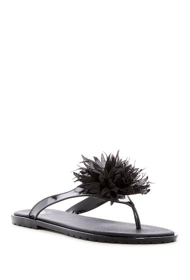 Incaltaminte Femei Dizzy Bouquet Floral Thong Sandal BLACK