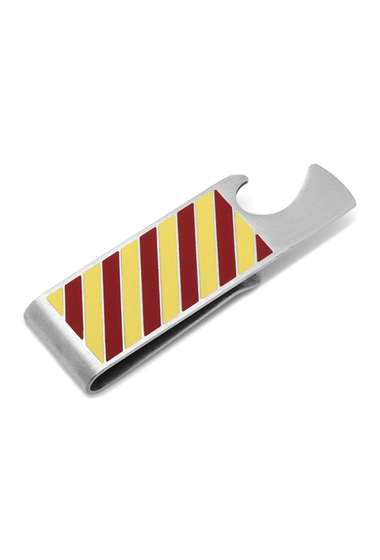 Accesorii Barbati Cufflinks Inc Varsity Stripes Garnet and Gold Bottle Opener Money Clip NO COLOR