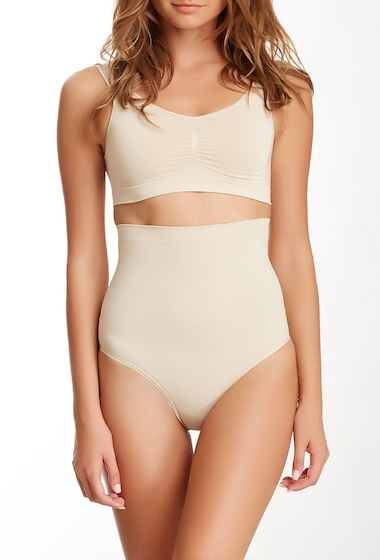 Imbracaminte Femei ControlBody Invisible High Waist Brief SKIN