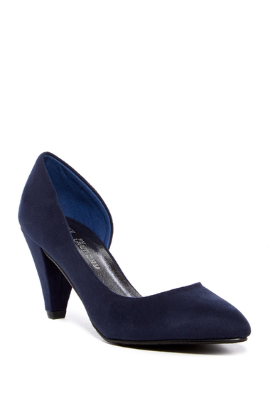 Incaltaminte Femei CL By Laundry Angelina dOrsay Pointed Pump INDIGO