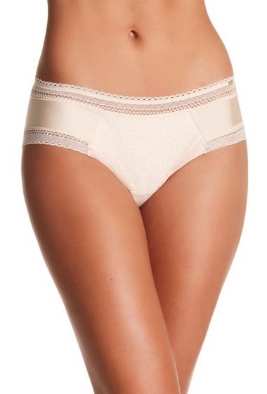 Imbracaminte Femei Chantelle Lace Boxer Short Panties NUDE BLUSH