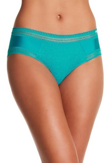 Imbracaminte Femei Chantelle Lace Boxer Short Panties PEACOCK