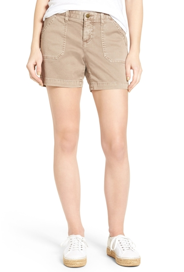 Imbracaminte Femei Caslon Utility Shorts Regular Petite COCOA