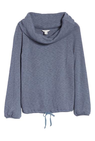 Imbracaminte Femei Caslon Convertible Off the Shoulder Pullover Regular Petite GREY GRISAILLE