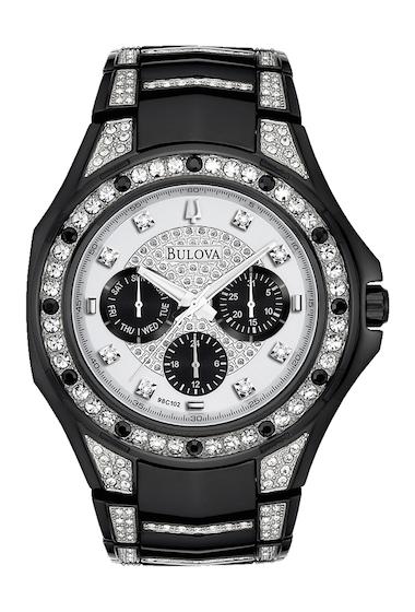 Ceasuri Barbati Bulova Mens Crystal Bracelet Watch 43mm NO COLOR