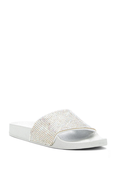Incaltaminte Femei Betsey Johnson Dixie Slide Sandal SIL MULTI