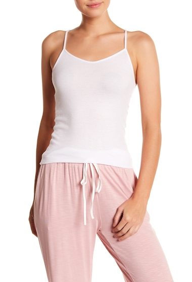 Imbracaminte Femei Barefoot Dreams Luxe Ribbed Jersey Cami WHITE