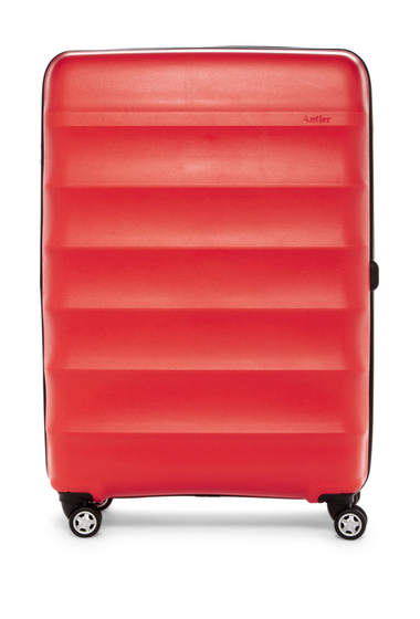 Genti Femei Antler Juno Deluxe 30 Expandable Spinner Suitcase RED