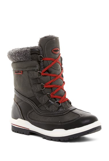 Incaltaminte Femei Aquatherm by Santana Canada Turnpike Waterproof Faux Shearling Boot BLACK PU
