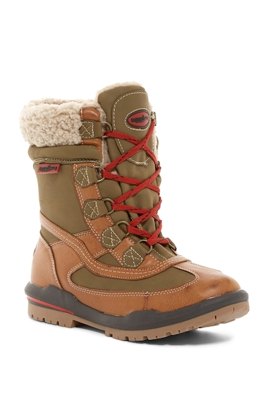 Incaltaminte Femei Aquatherm by Santana Canada Turnpike Waterproof Faux Shearling Boot TAN PU