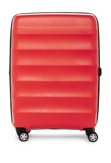 Genti Femei Antler Juno Deluxe 27 Expandable Spinner Suitcase RED