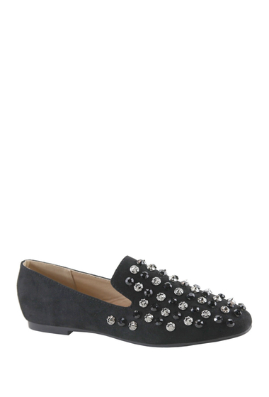 Incaltaminte Femei ANNA Lara Embellished Loafer BLACK