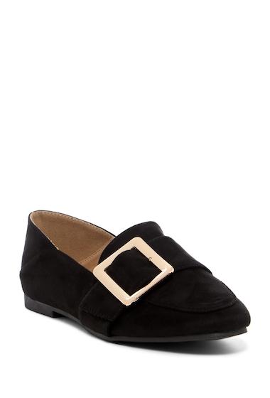 Incaltaminte Femei ANNA Evie Buckled Loafer Flat BLACK