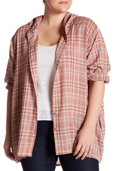 Imbracaminte Femei Supplies Mira Shirt Jacket Plus Size CANYON ROS