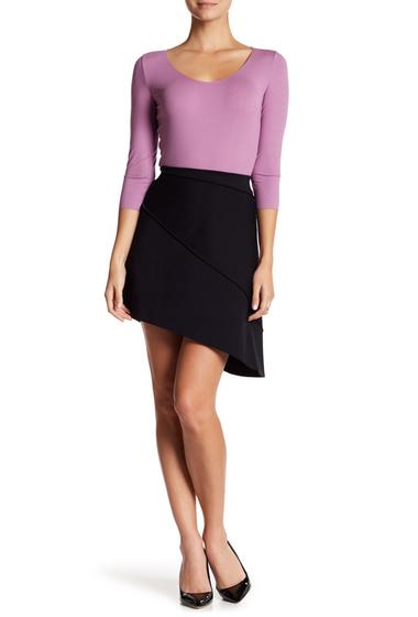 Imbracaminte Femei WOLFORD Baily Asymmetrical Mini Skirt BLACK