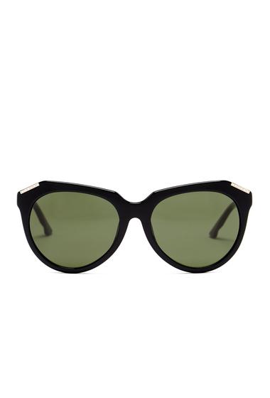 Ochelari Femei Swarovski Womens Feel Good Rounded Sunglasses SBLK-GRNG